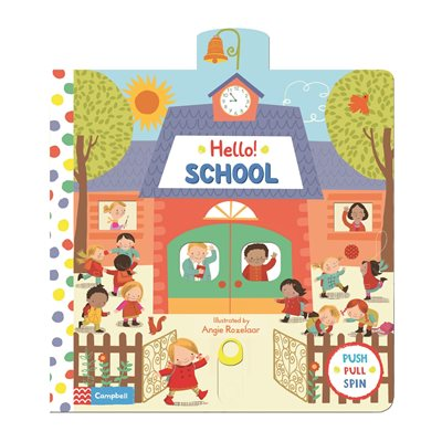 Book cover for Hello! School